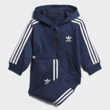 e56b1753c5d adidas Originals adidas Infants Trefoil Full Zip Hoodie Track Suit (D96096)